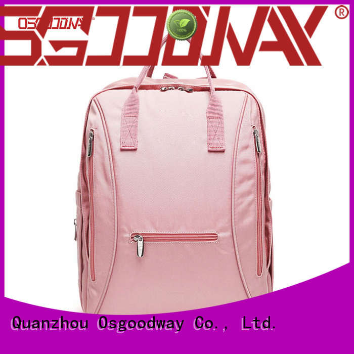 Osgoodway waterproof girl diaper bag backpack men for dad