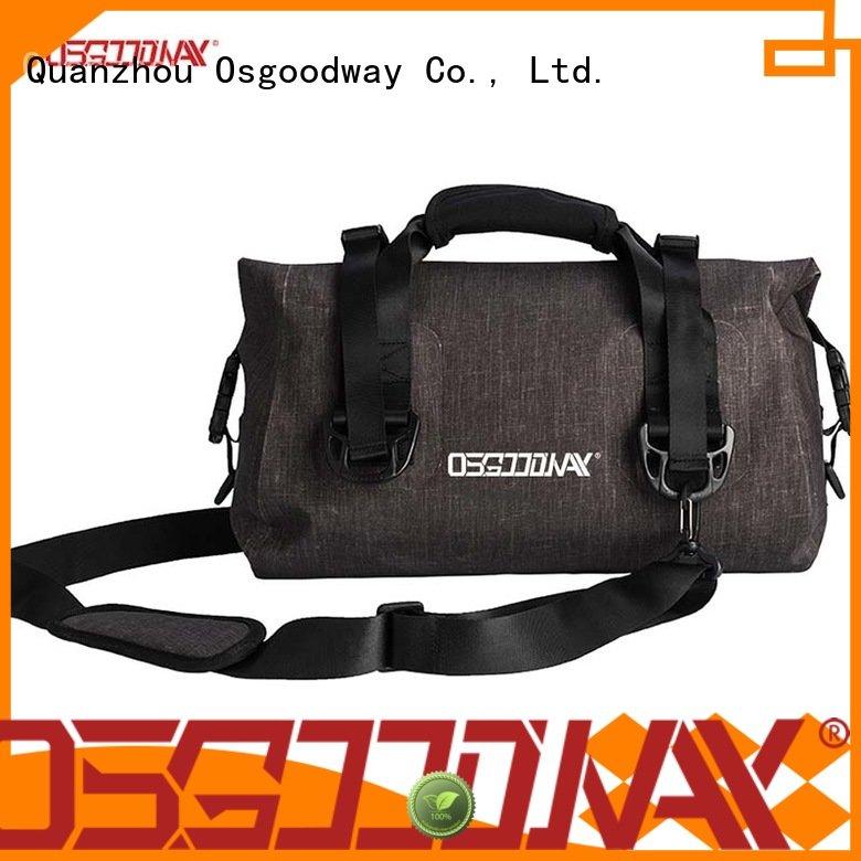 Roll Top 100% Waterproof Dry Duffel Bag Airtight 600D TPU Dry Bag