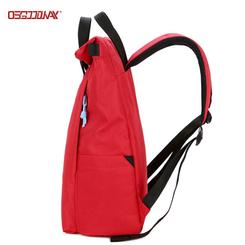 Custom Bagpack Rucksack Outdoor Roll Top Laptop Backpack Bag for College Student