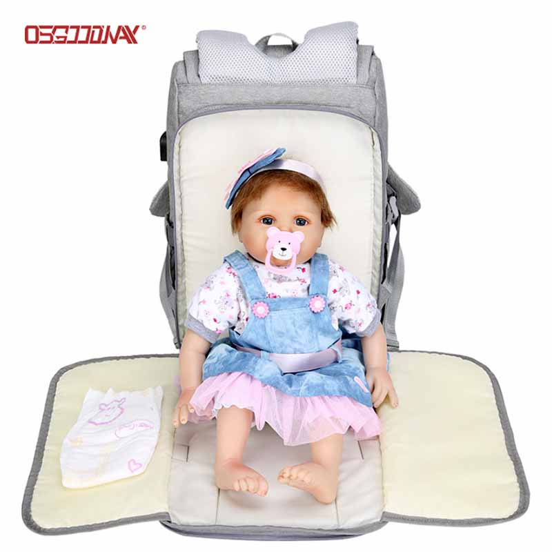multi-Function backpack diaper bag for girl care manufacturer for baby care- backpack, school backpa
