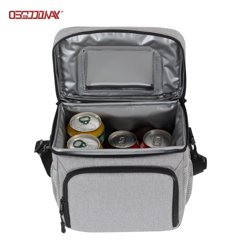 Innovative Top-Open Portable Insulated Cooler Lunch Bag Outdoor Picnic Bag