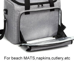 compartment best beach cooler bag keep food fresh for hiking Osgoodway-Osgoodway-img
