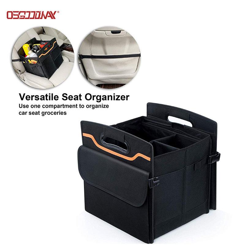 Multipurpose Car Storage Box Collapsible Folding Car Trunk Organizers