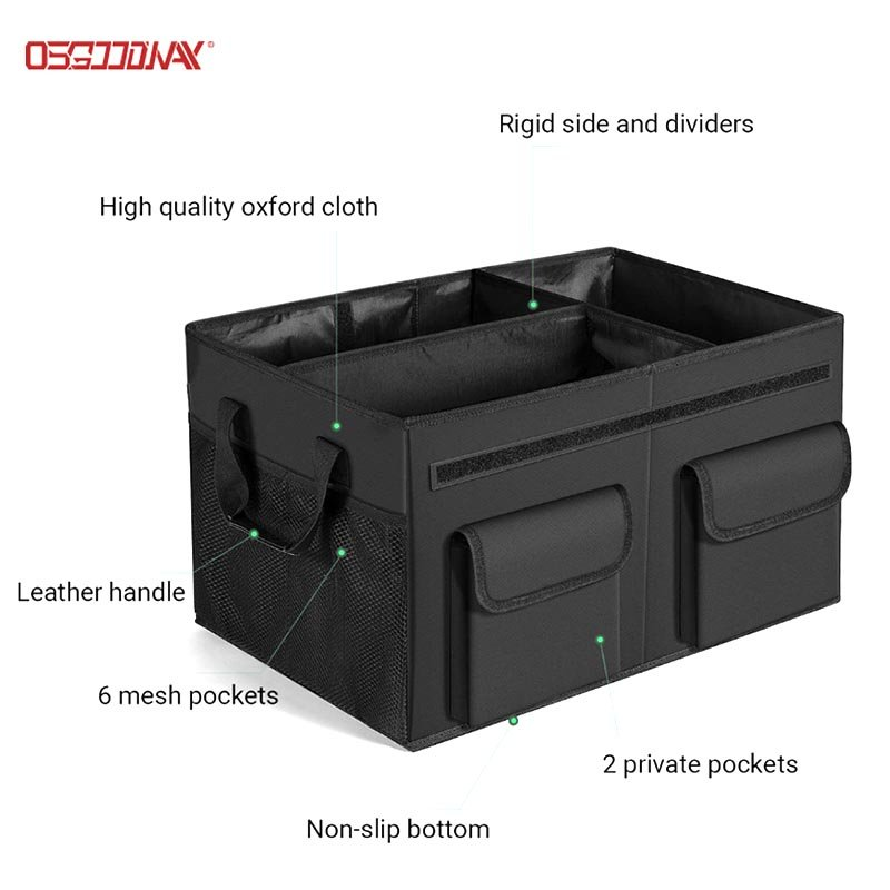 Simply Style Trunk Organizer for Cars SUV Trunk Organizers with Durable Cover