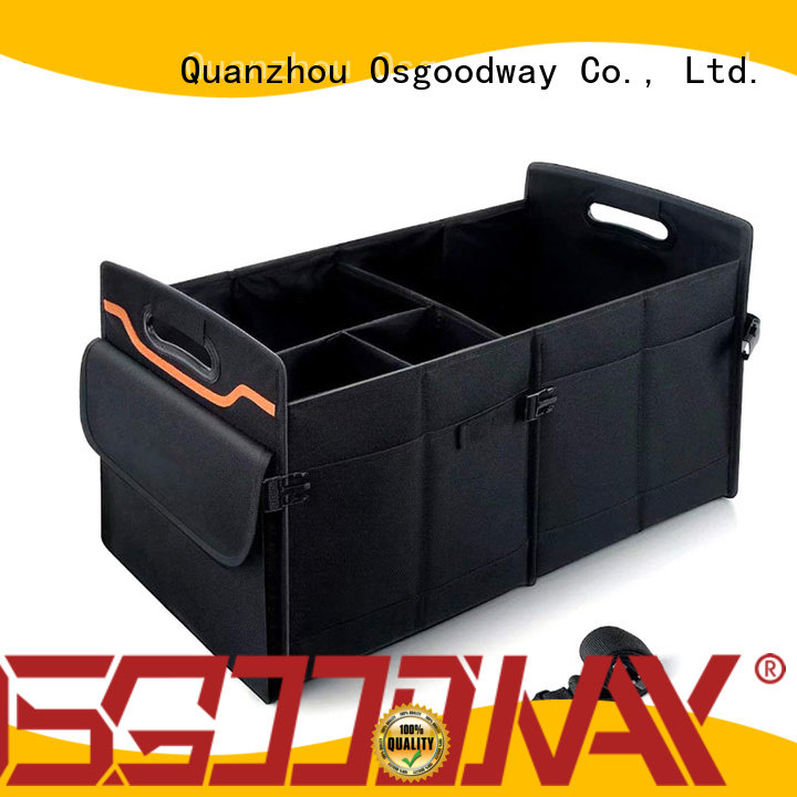 Osgoodway customized golf trunk organizer van for suv