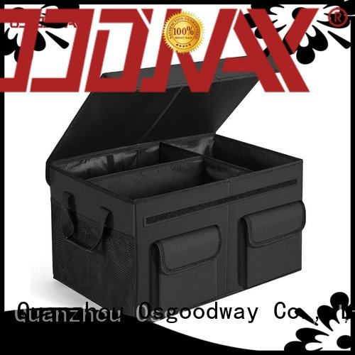 sturdy insulated trunk organizer personalized for car