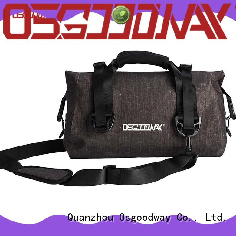 Osgoodway fashion waterproof dry bag backpack easy cleaning for rafting