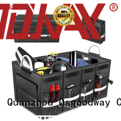 portable trunk organizer with cooler personalized for minivan