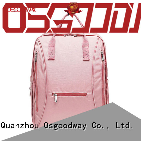 Osgoodway large capacity baby diaper backpack wholesale for picnic