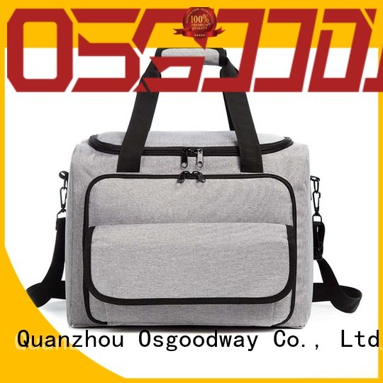 compartment best beach cooler bag keep food fresh for hiking Osgoodway