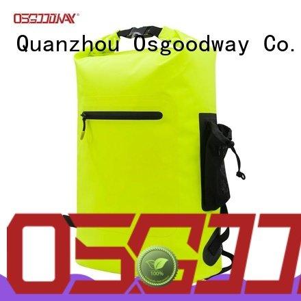 Custom Outdoor Sports Bags Waterproof Dry Bag Pack Backpack for Rafting Stream Swimming
