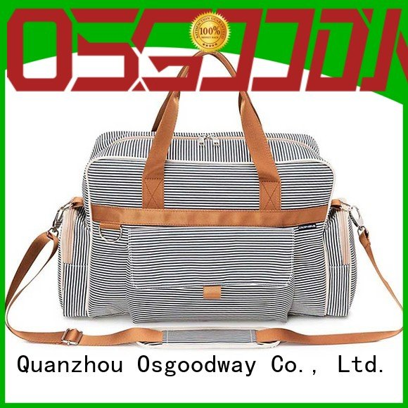 diaper bag supplier leather for mom Osgoodway
