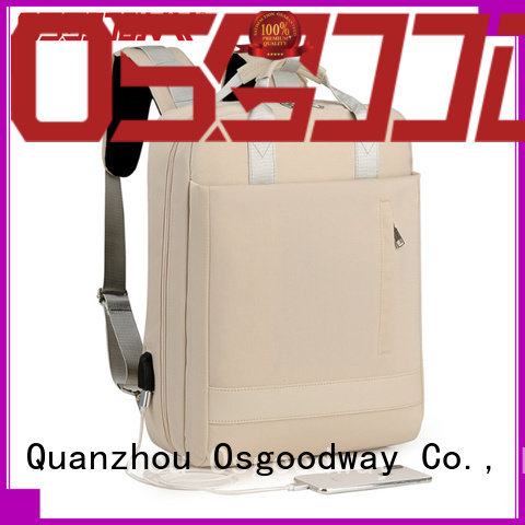 Osgoodway ladies laptop backpack supplier for work