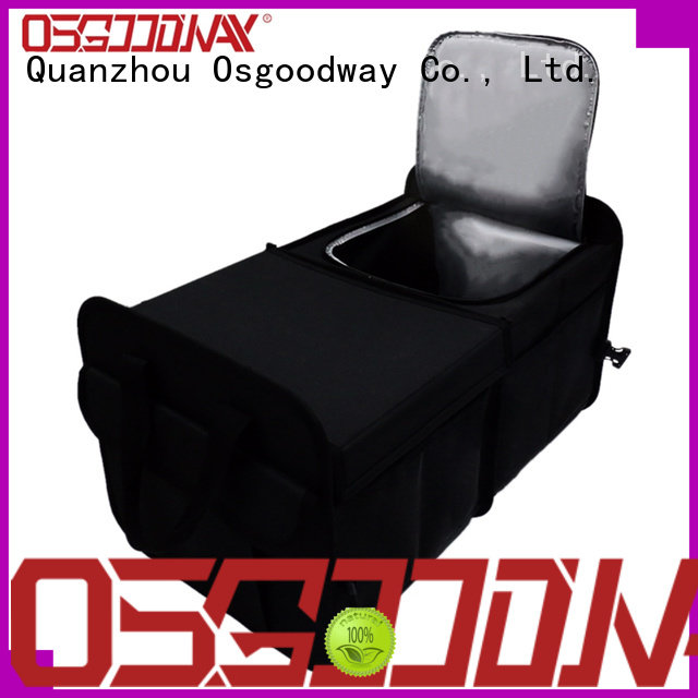 Osgoodway customized suv trunk organizer with cooler bag for car