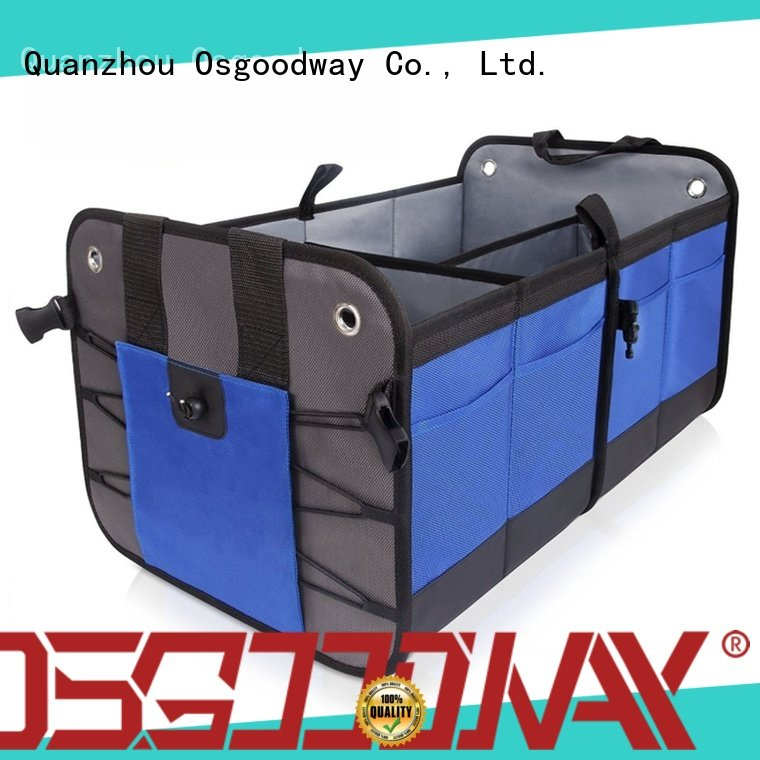 Osgoodway customized collapsible trunk organizer supplier for truck