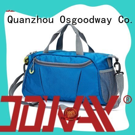 Osgoodway pu travel duffle bag with Multi-pockets for travel