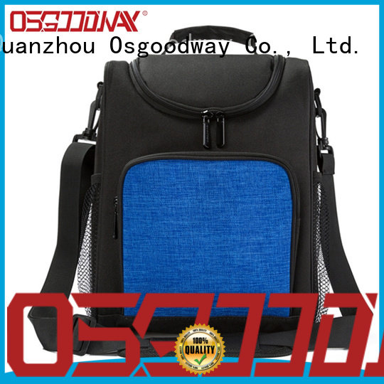 Osgoodway good quality beach cooler bag keep food cold for hiking