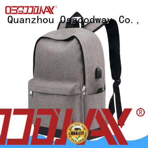 Osgoodway light anti-theft laptop backpack directly sale for school