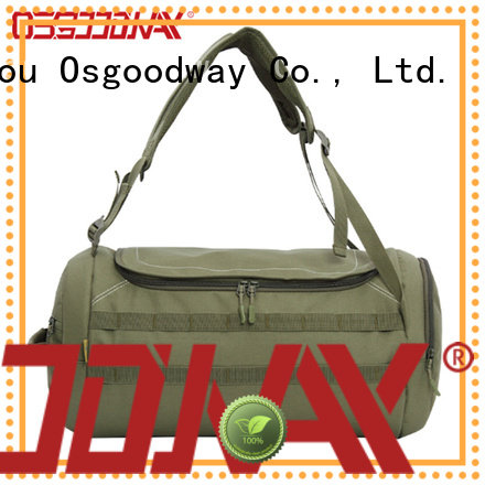 Osgoodway waterproof duffel bag manufacturer design for gym