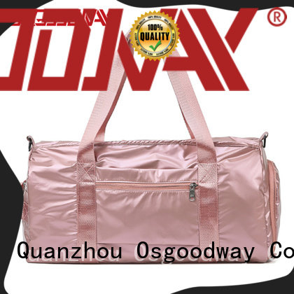 Osgoodway tote water proof duffle bag with Multi-pockets for gym