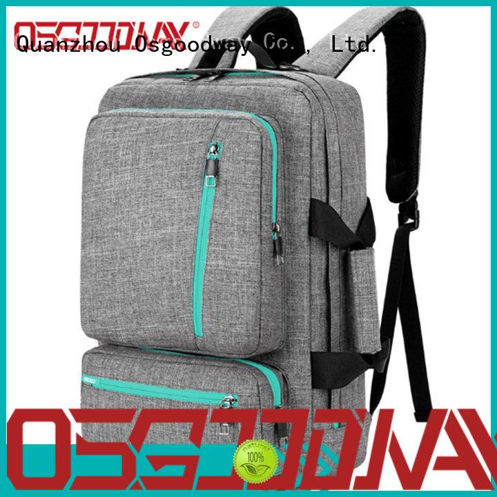 Osgoodway usb laptop backpack for men wholesale for work