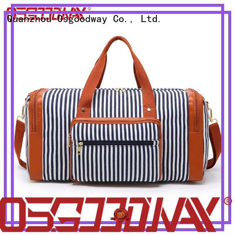 Osgoodway adjustable gym duffle bag womens supplier for fitness