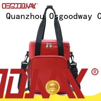 Osgoodway family insulated cooler bag keep food fresh for camping