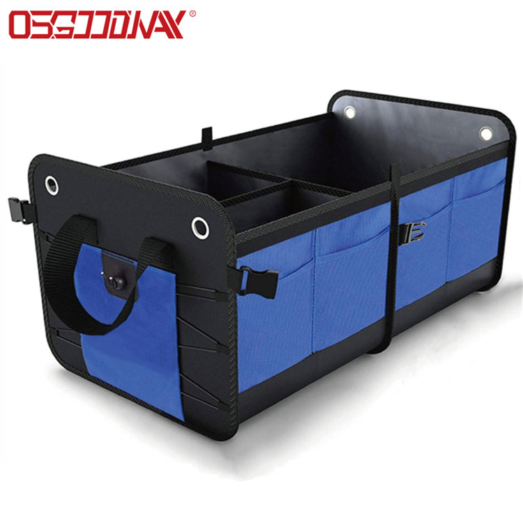 Multi Compartments Collapsible Portable Durable Trunk Organizer Storage Containers