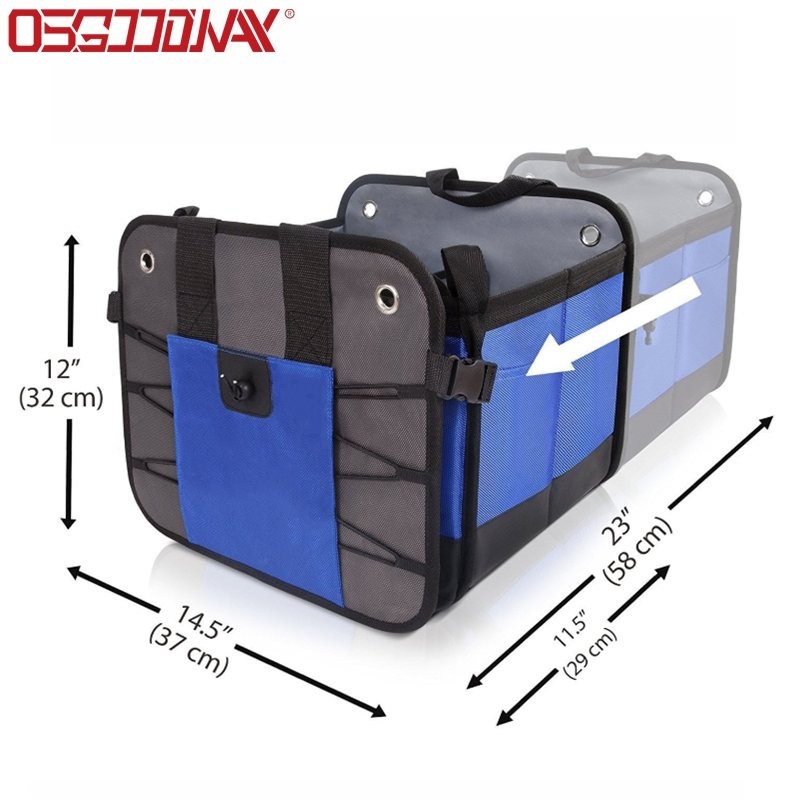 Heavy Duty Collapsible Durable Car Trunk Storage Organizer