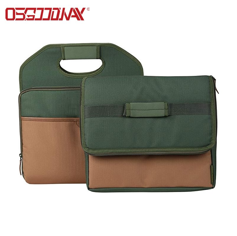 Auto Collapsible Portable Folding Car Trunk Organizer with Cooler Bag