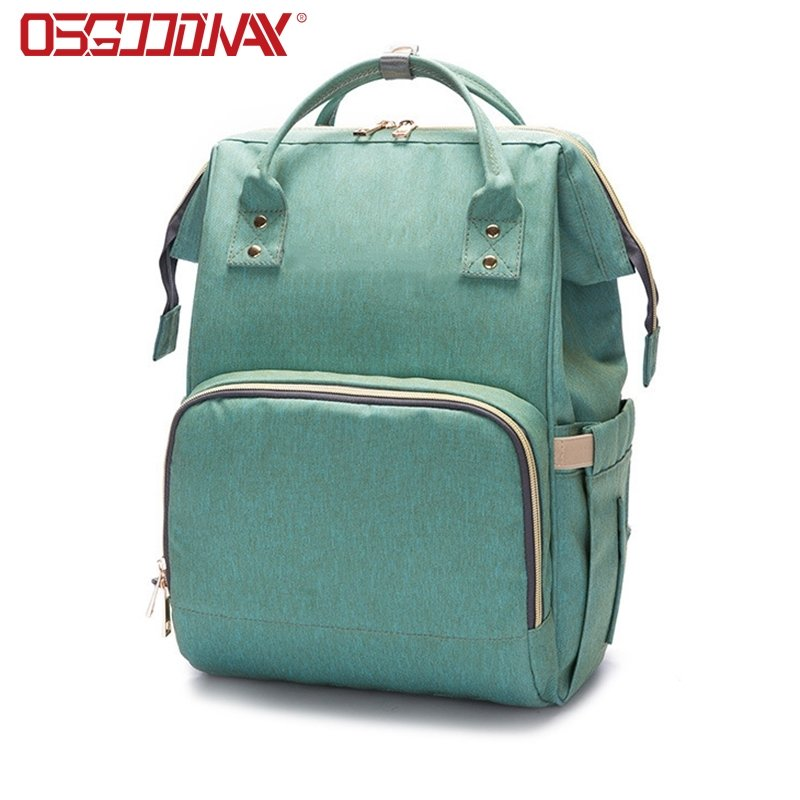 Large Capacity Multi-Function Waterproof Travel Baby Backpack Diaper Bag for Baby Care