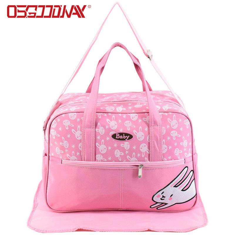 China Wholesale Waterproof Animal Print Cute Diaper Bag Backpack