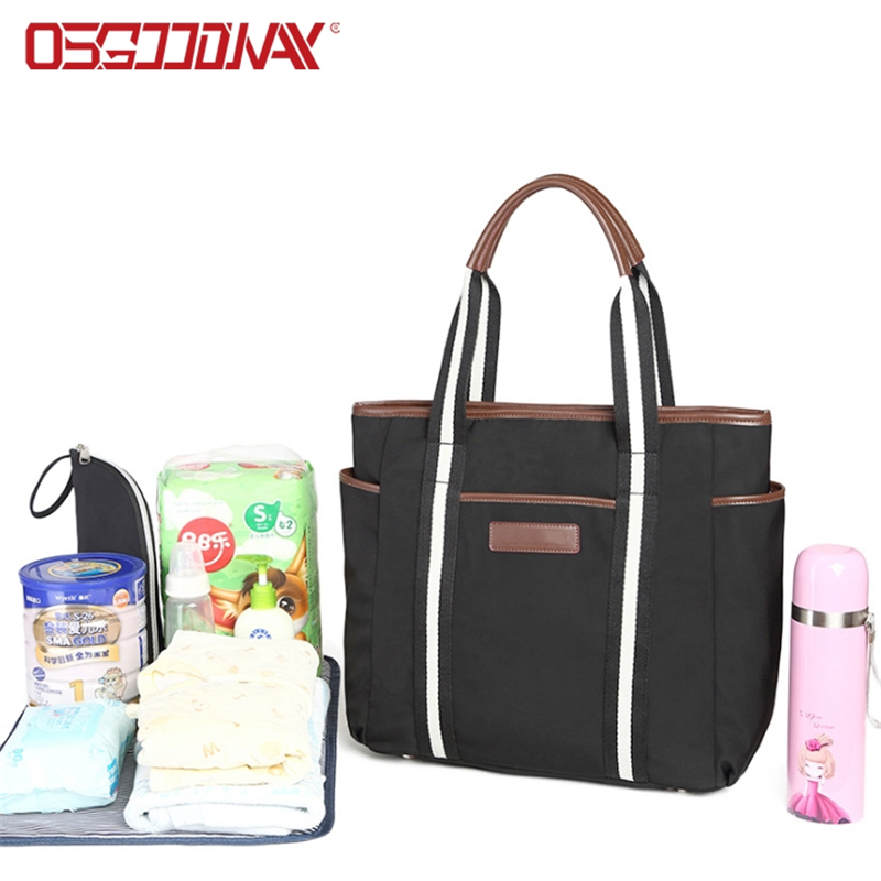 Osgoodway pattern wholesale diaper bags easy to carry for picnic-Osgoodway-img