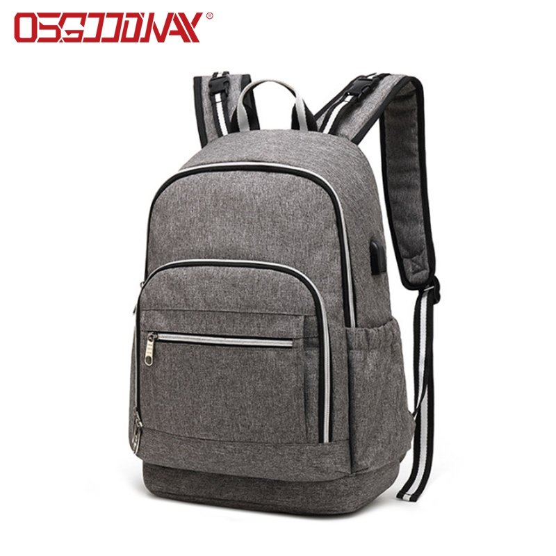 Large Unisex Baby Bags Multifunction Travel Diaper Backpack for Mom and Dad