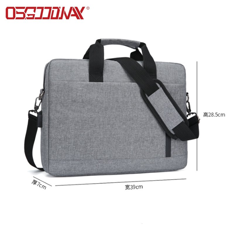 14-15.6 Inch Briefcase Lightweight Laptop Bag with Shoulder Strap and Handle