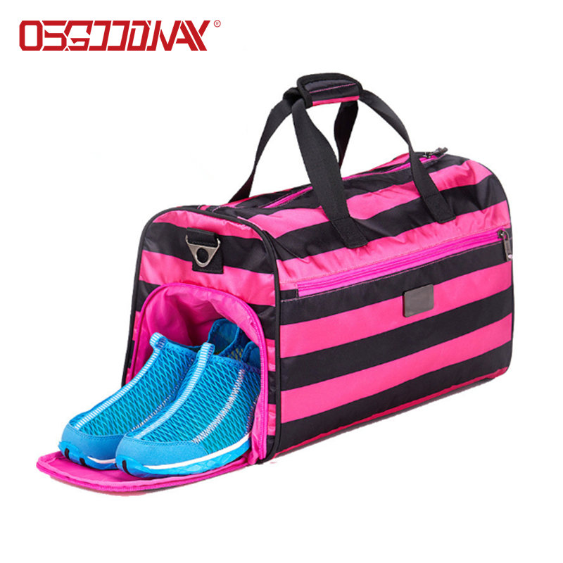 Waterproof Large Sports Bags Travel Duffel Bags with Shoes Compartment