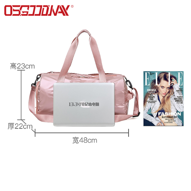 application-good quality sports duffle bag with Multi-pockets for fitness-Osgoodway-img