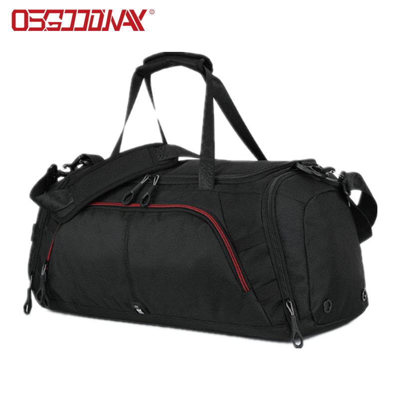 Waterproof Large Sports Mens Travel Duffle Bag with Shoes Compartment Weekender Overnight Bag