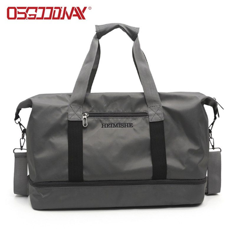 good quality duffel bag manufacturer with Multi-pockets for travel-2