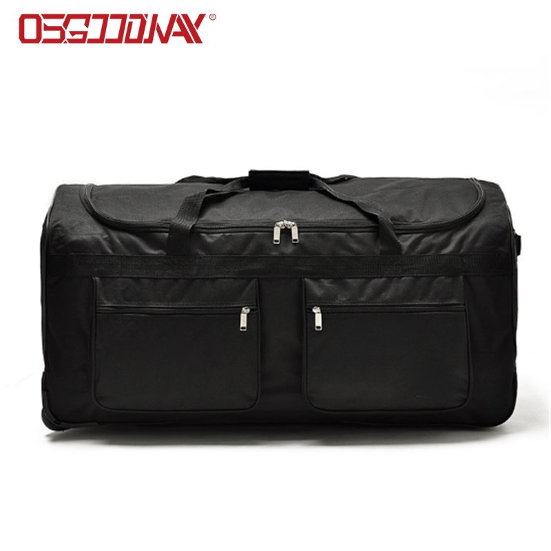 Large Lightweight Rolling Duffle Bag with Wheels Carry-On Short Term Trips Case