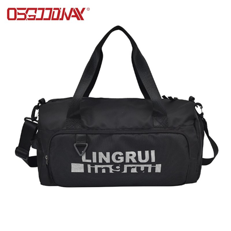 Water-resistant Fashionable Gym Bags with Waterproof Shoe Pouch