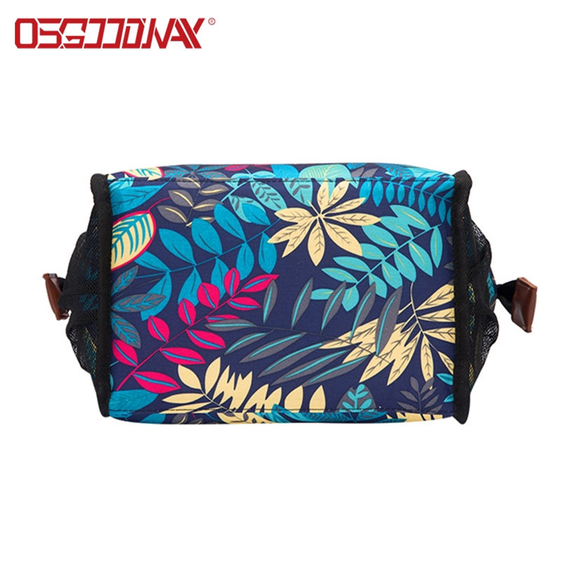 Wide-Open Large Durable Nylon Thermal Lunch Cooler Bag for College Work Picnic Hiking Beach Fishing