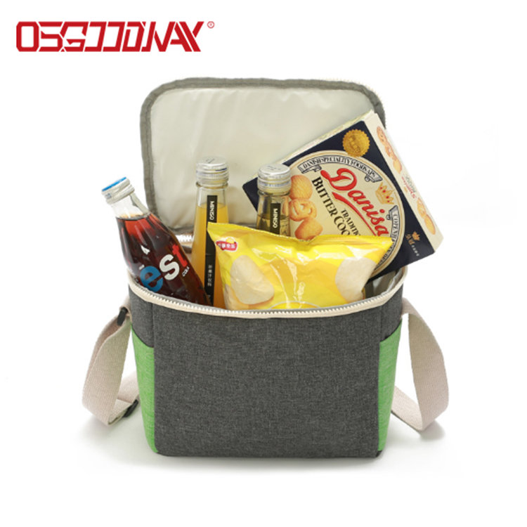 Insulated 24 Can Soft Portable Beer Bottle Cooler Bag for Travel Camping Picnic Beach