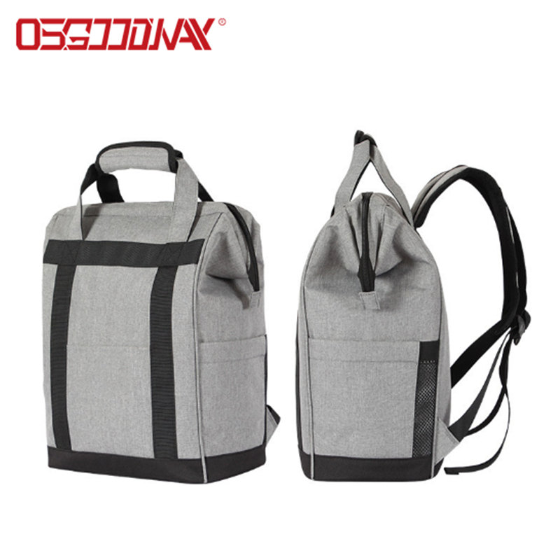 Large Capacity Lightweight Insulated Large Opening Backpack Cooler Bag for Picnics Camping Hiking Beach