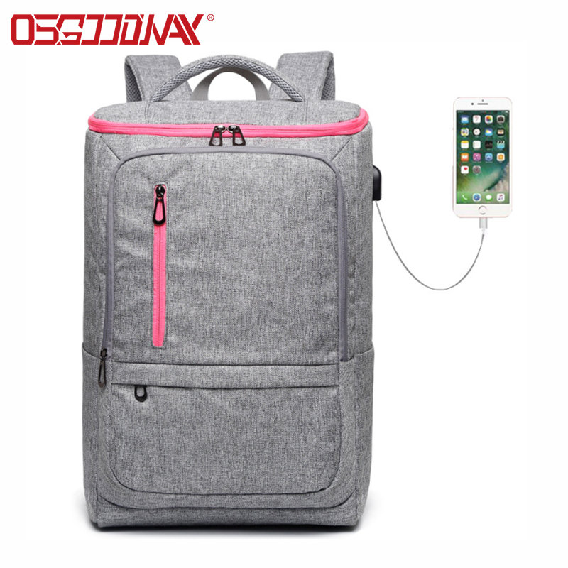 news-Osgoodway-Why USB Charging Backpacks are a Great Choice for Frequent Travelers-img-1