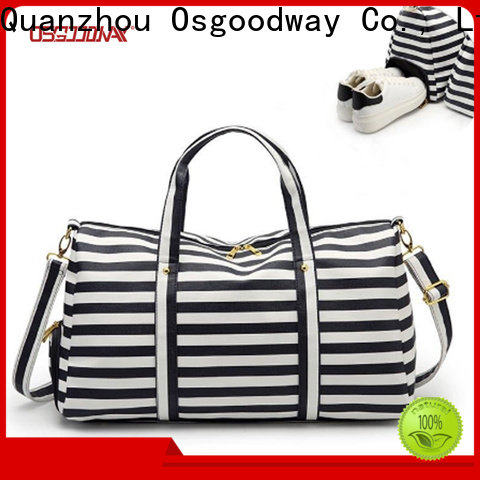 Osgoodway canvas duffle bag supplier for fitness