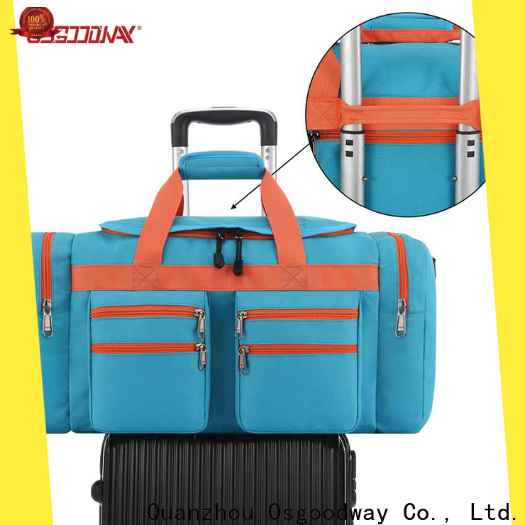 Osgoodway good quality water proof duffle bag supplier for travel