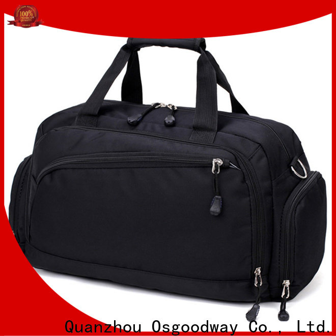 Osgoodway waterproof sports duffle bag supplier for gym