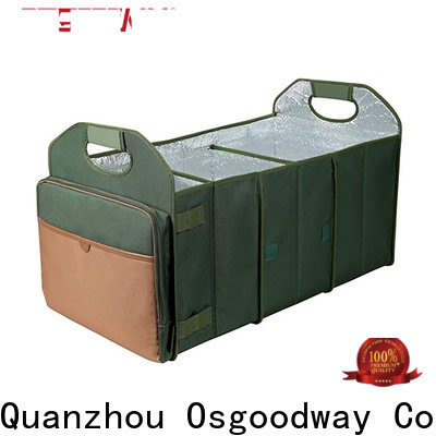 Osgoodway heavy duty large trunk organizer personalized for car