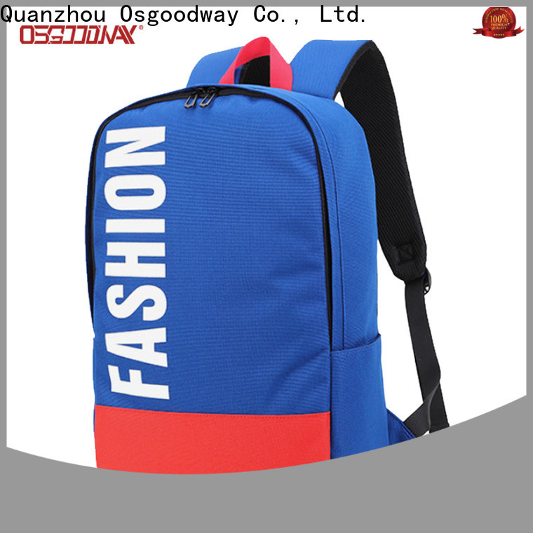 Osgoodway fashion backpack online for school